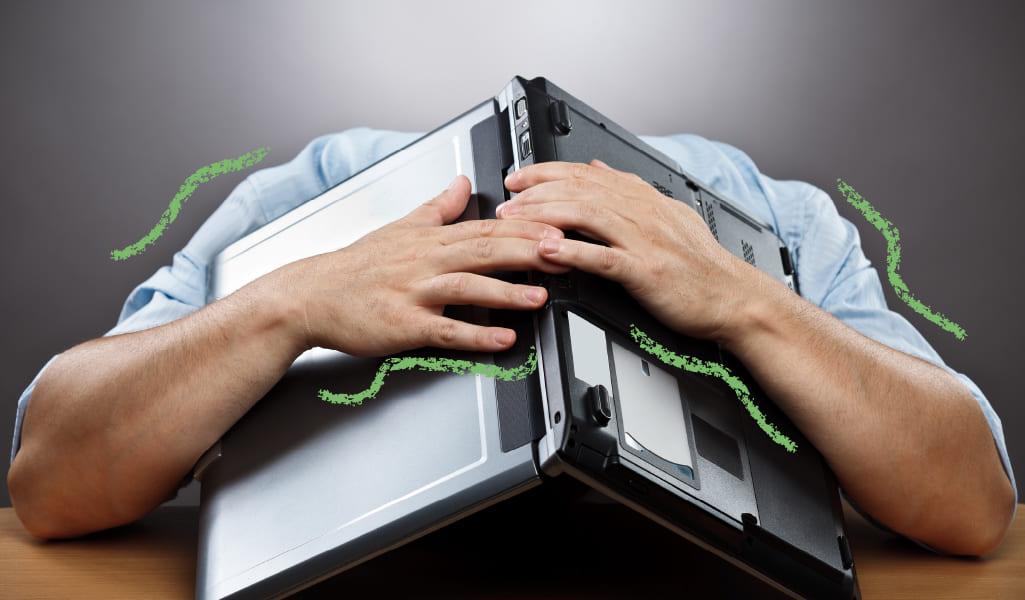 consejos evitar estrés tecnológico
