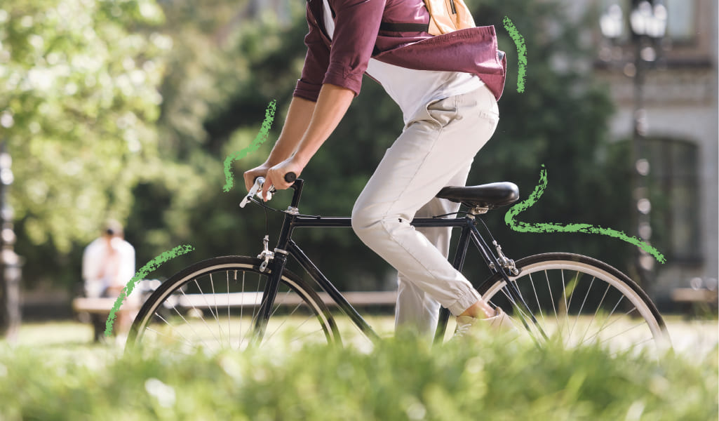 activismo sobre ruedas para ciudades limpias