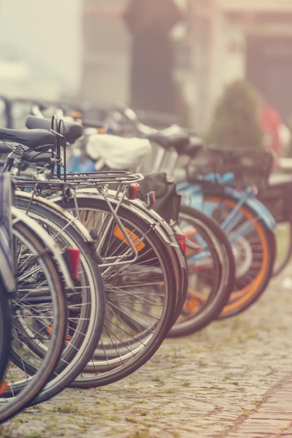viviendas con plaza de bicicletas