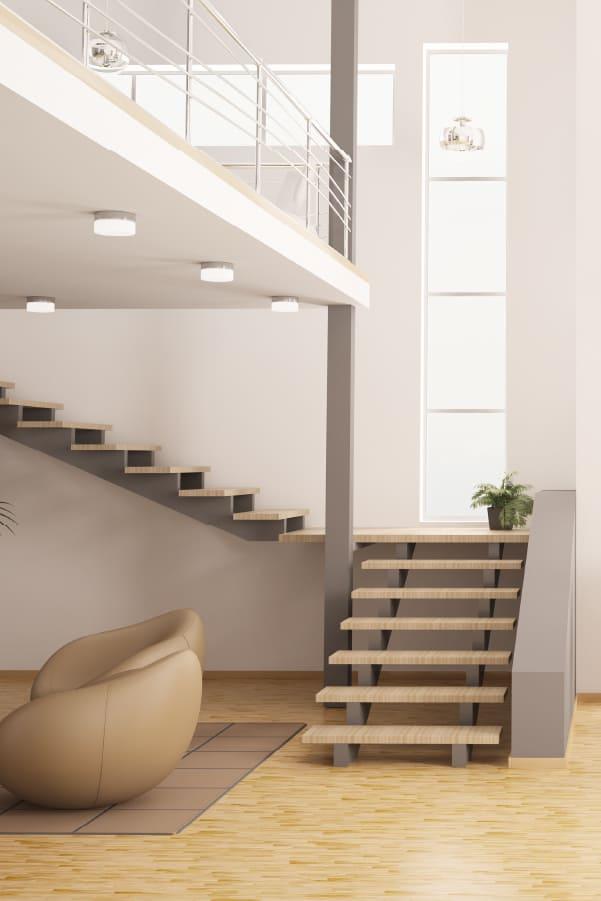 viviendas con techo doble altura