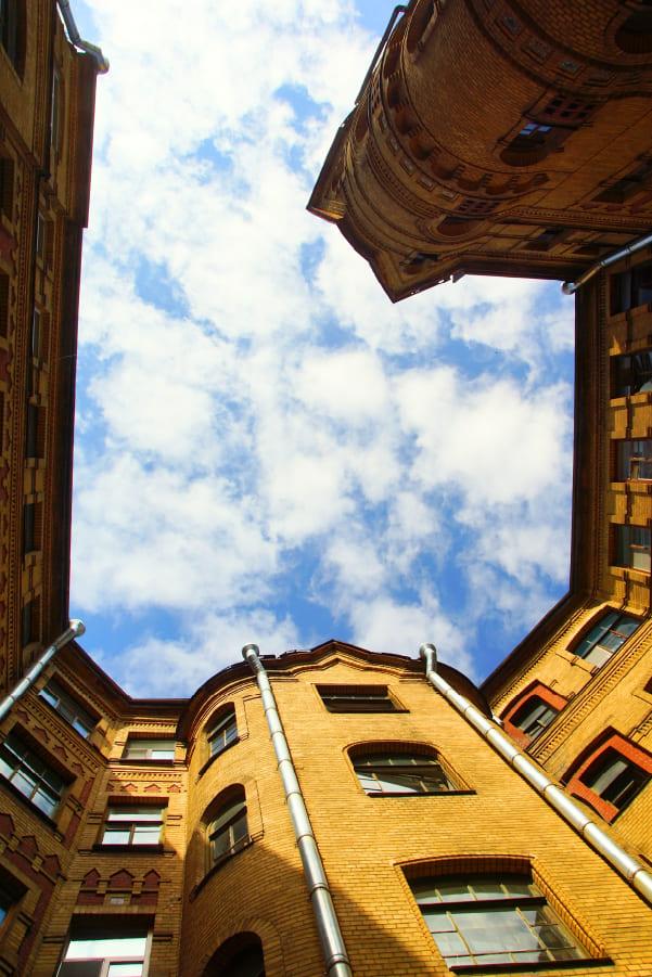 viviendas con vista interior
